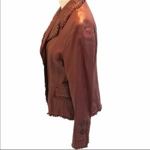 Vintage Pamela McCoy Collection Leather Jacket